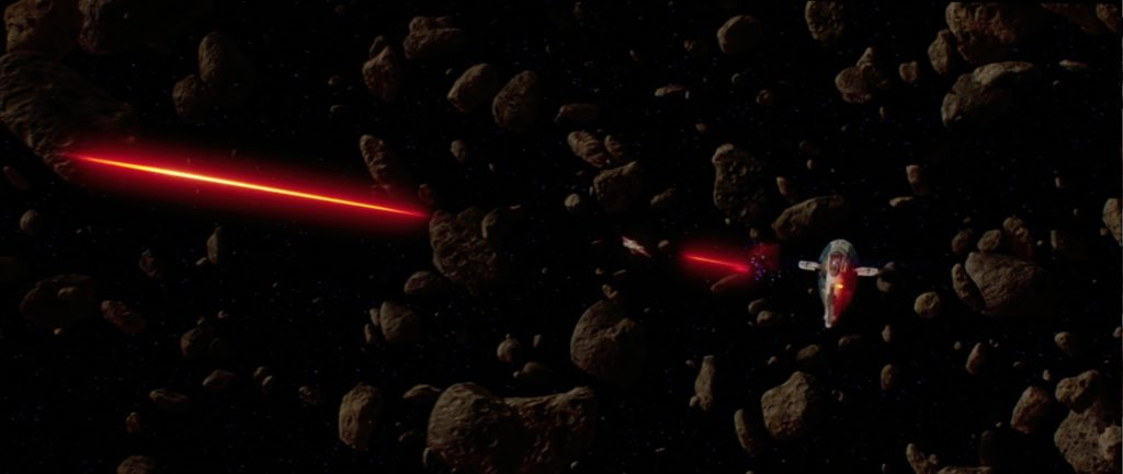 Attack of the Clones - Asteroid chase