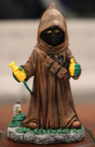 Star Wars Shop's legendary Jawa garden gnome.