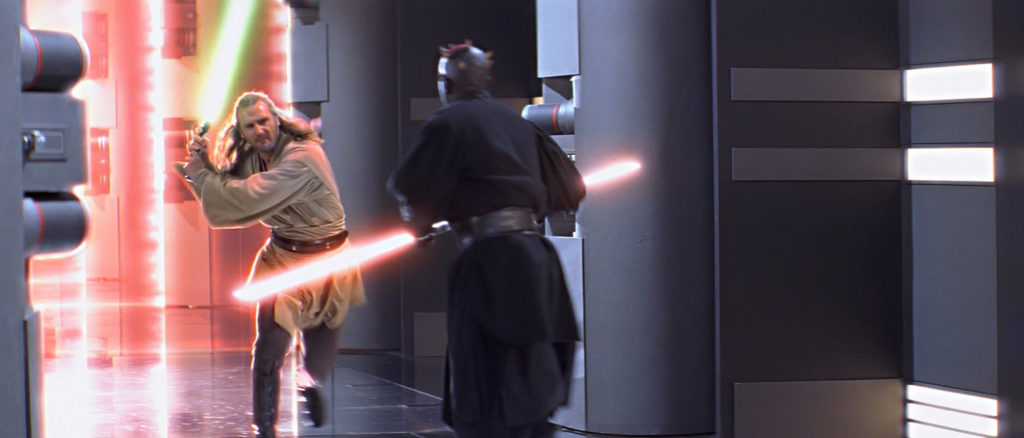 The Phantom Menace - Qui-Gon and Darth Maul
