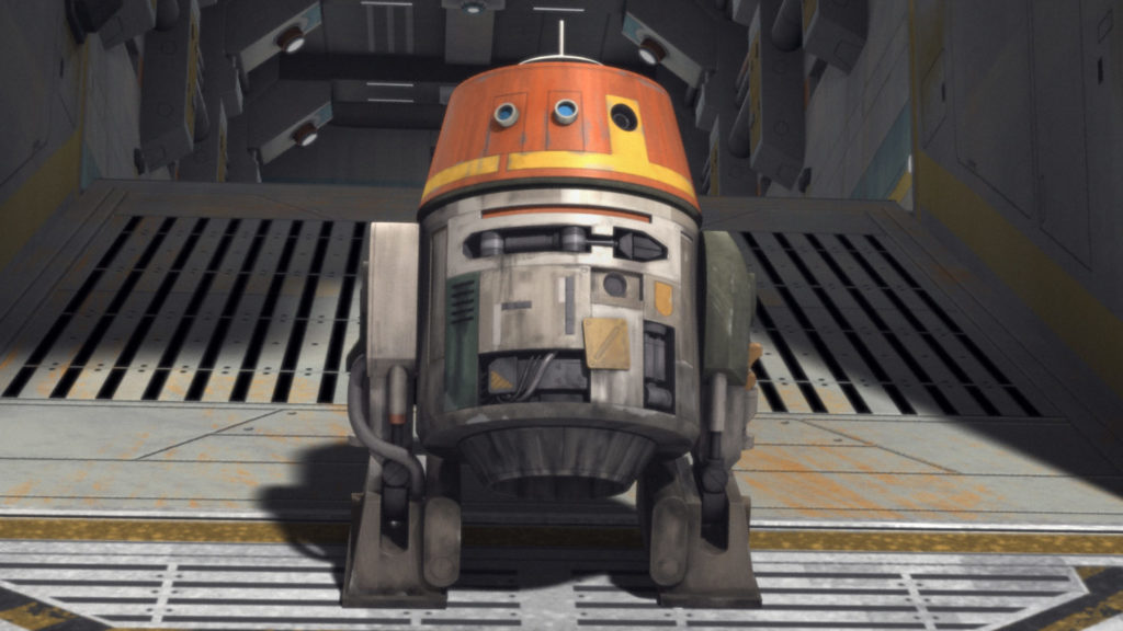 Chopper in Star Wars Rebels