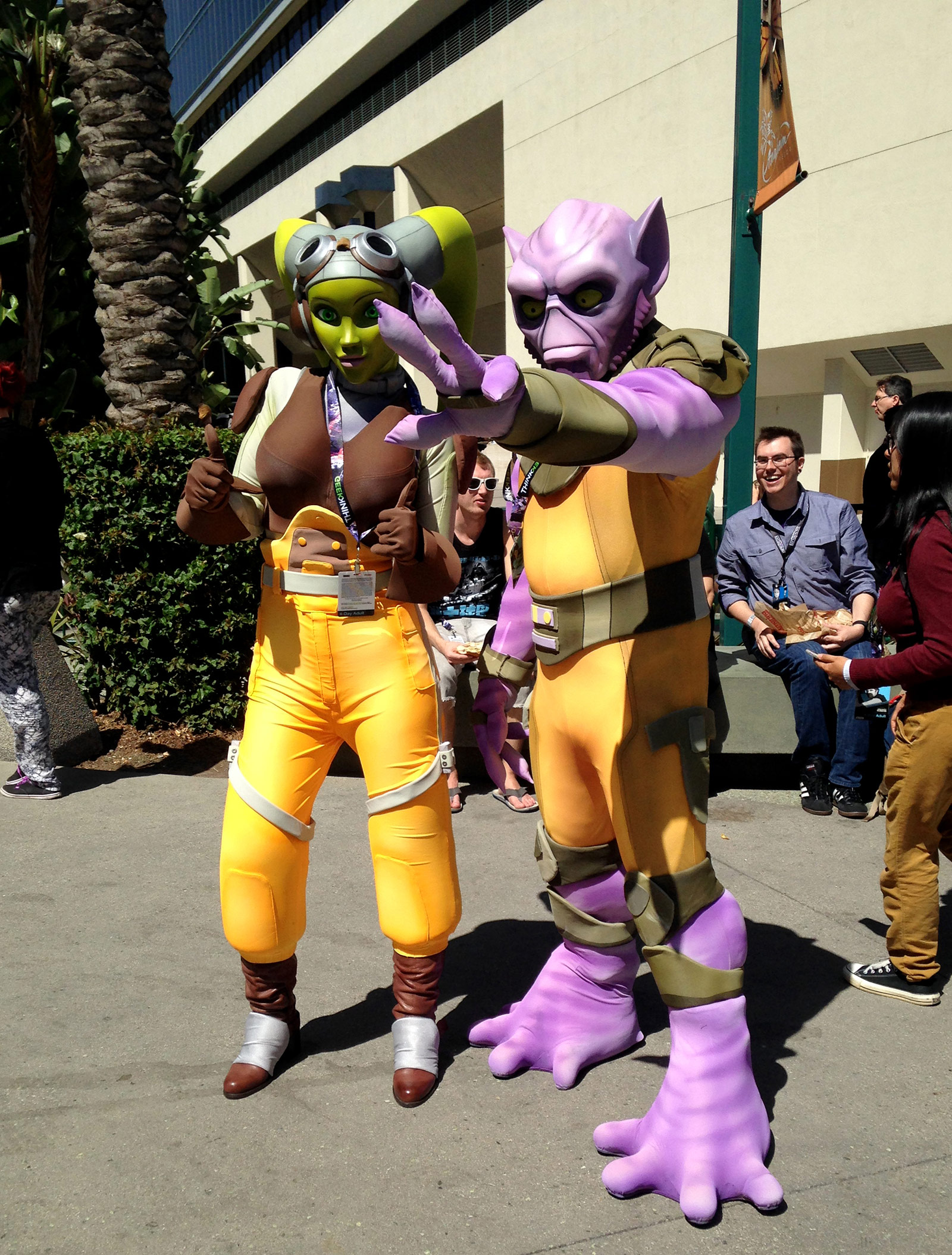 Celebration Anaheim Cosplay, Hera and Zeb