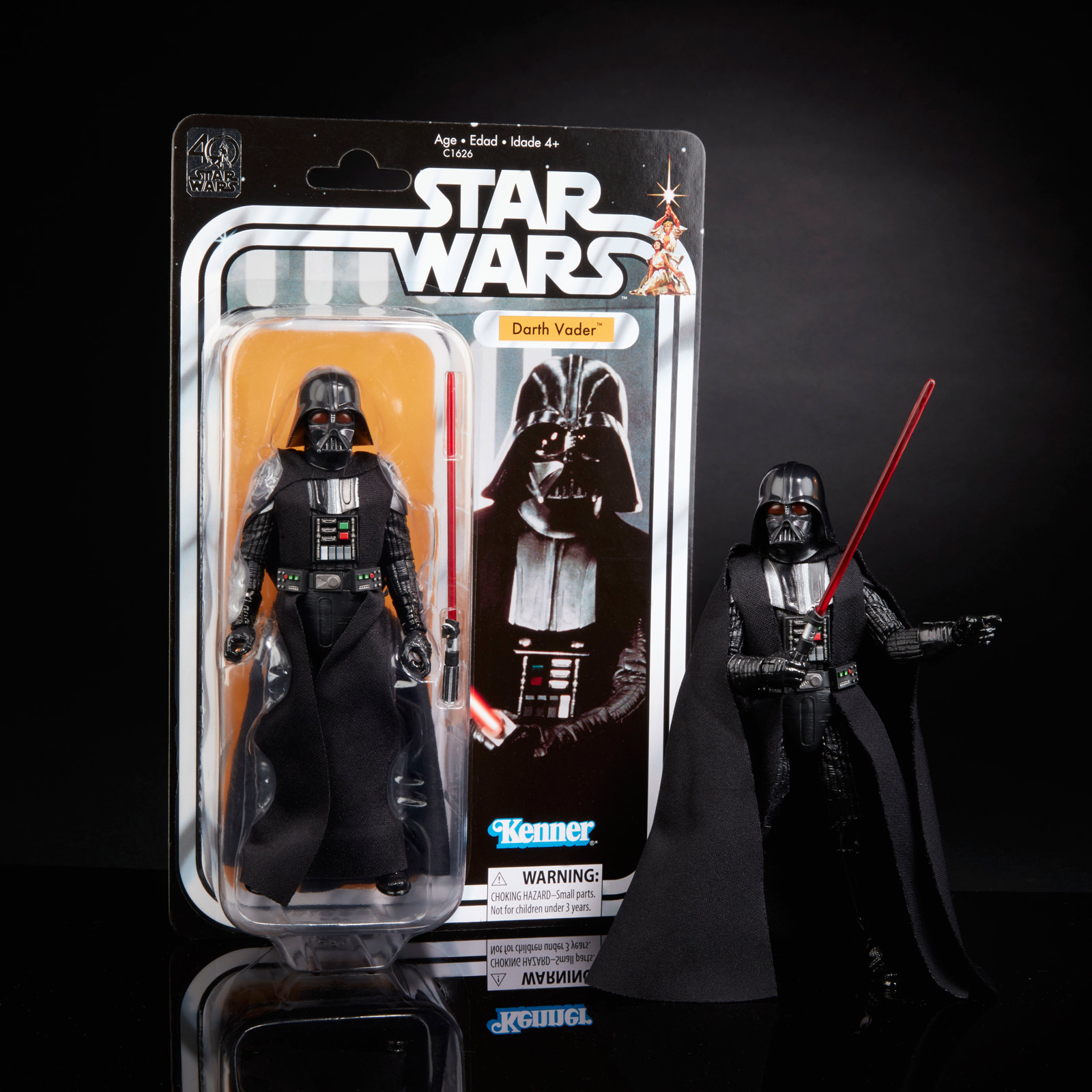 30ebe7572 Inside Hasbro's Awesome 40th Anniversary Star Wars Black Series ...