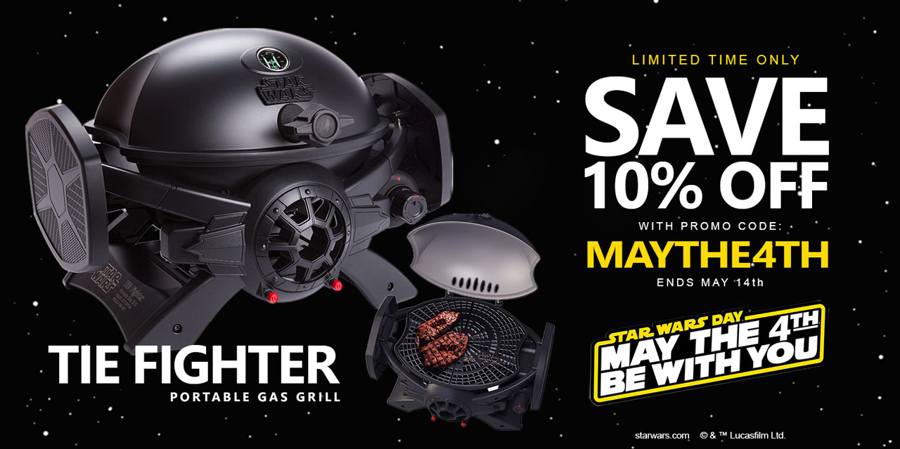 7e99b3def BroilChef. Save 10% Off any Star Wars ...