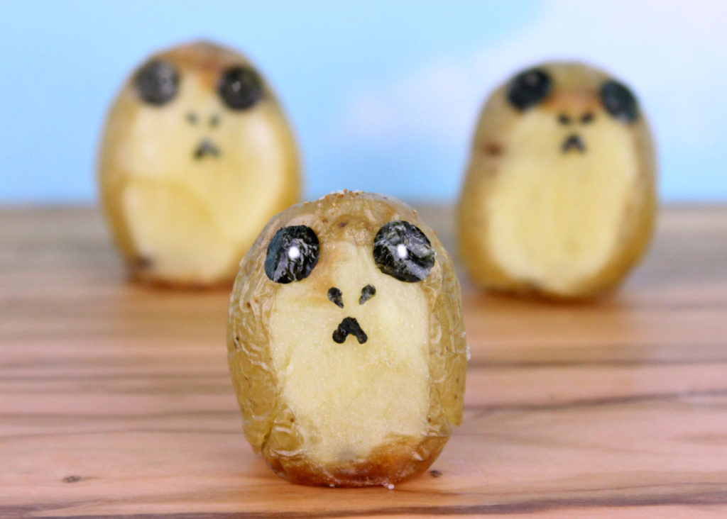 Here Is A Recipe For Porg Potatoes Because Porgs