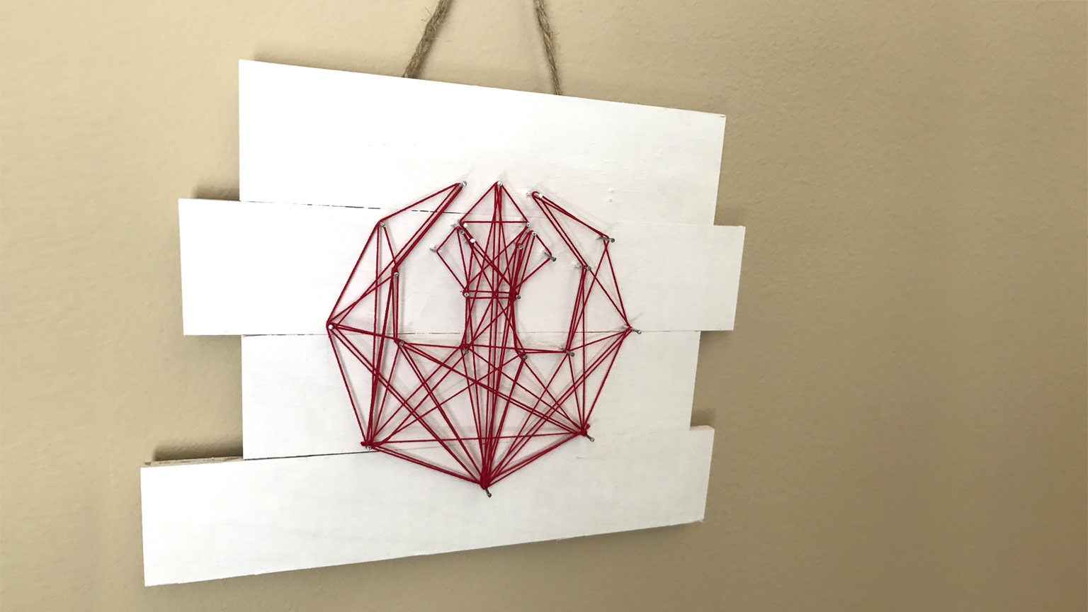 This Rebel Alliance String Art Binds The Galaxy Together Starwars