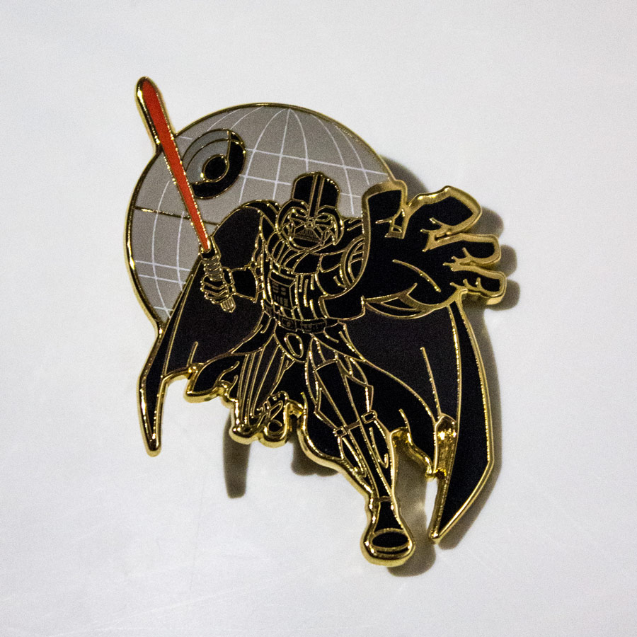 8 Star Wars Pins That Will Turn You to the Trading Side of