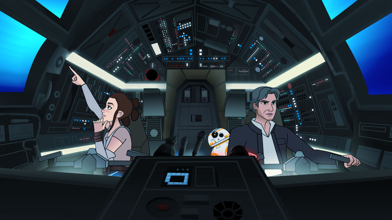 """5 Highlights from Star Wars Forces of Destiny: """"Tracker"""