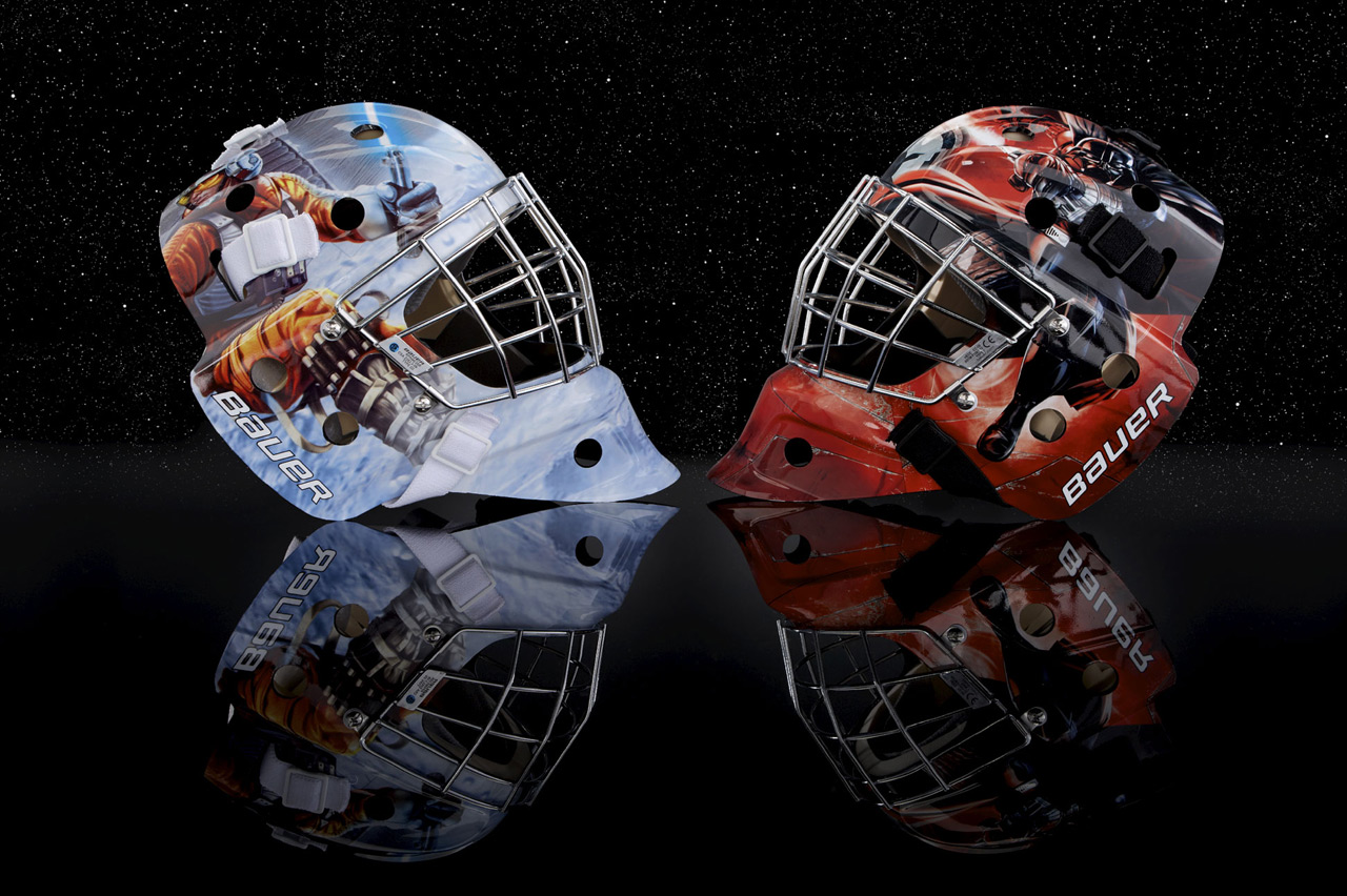 Bauer's Star Wars Goalie Masks: Perfect for Hoth-Worthy