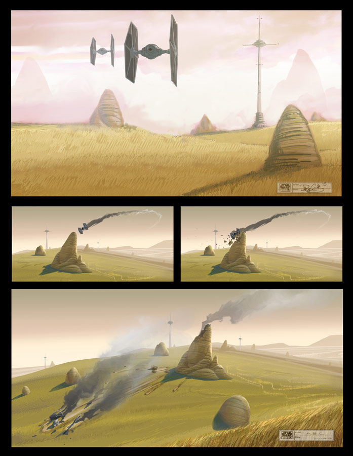 swce 2013 star wars rebels logo art and details revealed