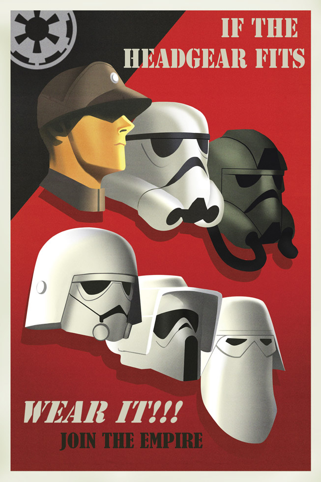 Star Wars Rebels propaganda poster - Imperials