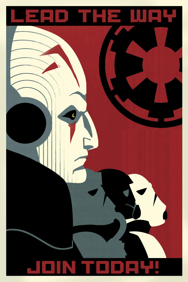 Star Wars Rebels Imperial Propaganda Posters Starwarscom