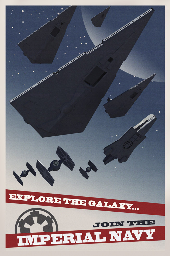Star Wars Rebels propaganda poster - Star Destroyers