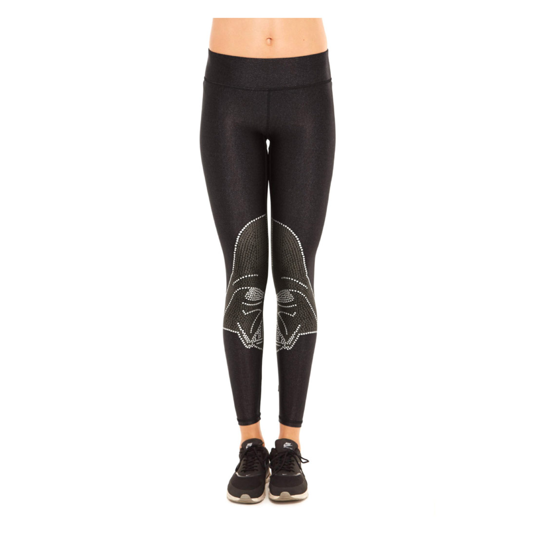 cf6a060e1bf51 Or gift it to family/friends who need a little extra Force in their winter  fashion. Terez's Star Wars Crystal Vader Tall Band Leggings