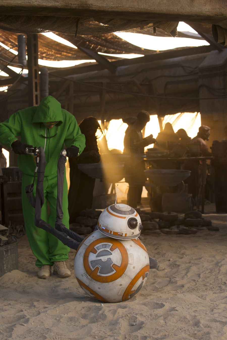 BB-8 and Porg Puppeteer Brian Herring on His Journey to The