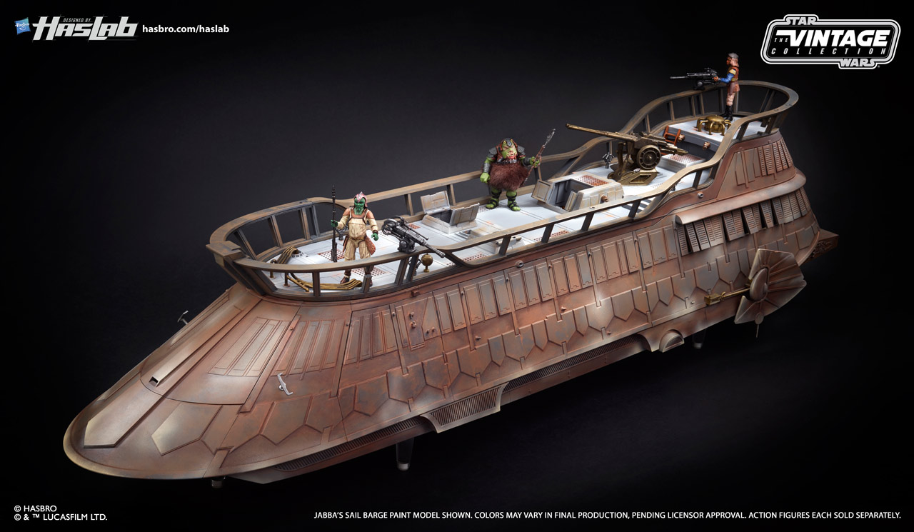 check out new photos of the fullypainted jabba�s sail